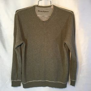 Tommy Bahama Mens V-neck Pullover Sweater Sz🙃$35